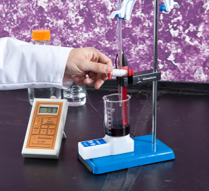 Our Service tests your wine for Titratable acidity using the Vinmetrica SC-300!